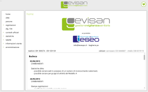 Home page di Gevisan