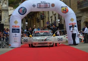 100° Targa Florio: grande prestazione del nostro equipaggio!